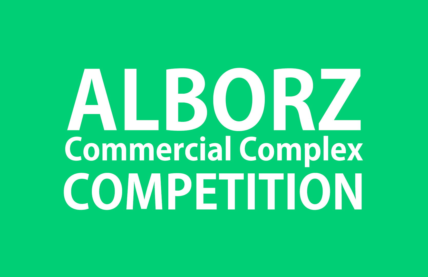 Alborz Commercial Complex Competition